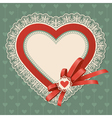 valentines day vintage vector image vector image