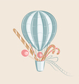 sweets balloon vector image vector image
