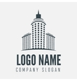 Logo label badge emblem or logotype element vector image