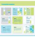 214 5 2016 presentation template vector image vector image