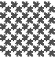 Seamless Maple Leaf Pattern Regular Tiled vector image