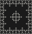 Retro floral seamless background vector image vector image
