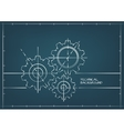 Abstract Technical Backgroung vector image