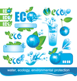 Ecology and the Environment vector image