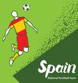 Spain 4 vector image