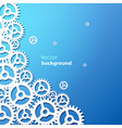 blue industrial background vector image