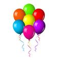 Balloons flower vector image