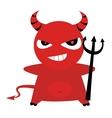 Devil vector image