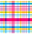 plaid seamless pattern Eps10 vector image