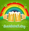 saint patrick day celebration success and vector image