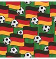 germany football pattern vector image