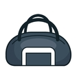 handle bag gym isolated icon vector image