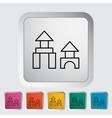 Building block vector image