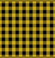 yellow tablecloth pattern design vector image