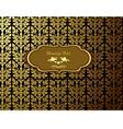 Thai Art Background  Thai art pattern vector image