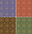 one pattern four colors vector image