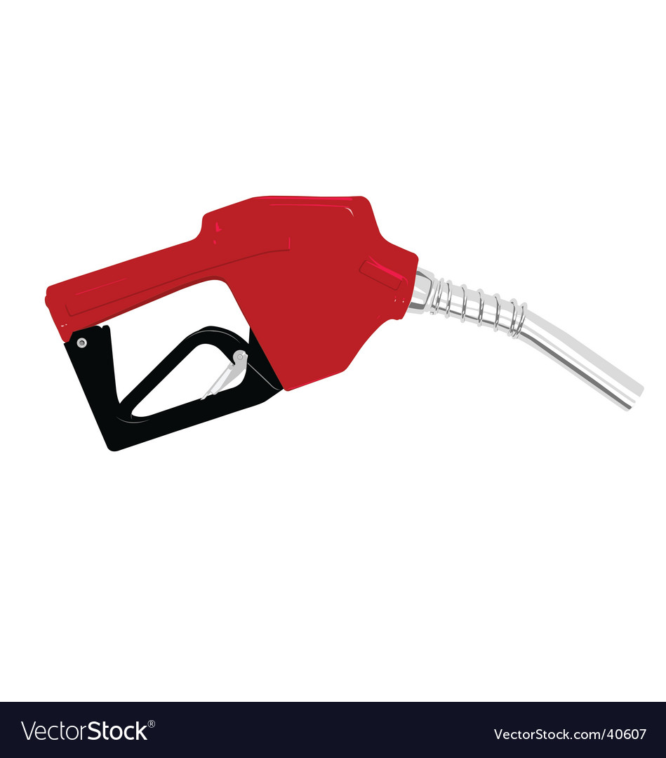 Gas nozzle vector
