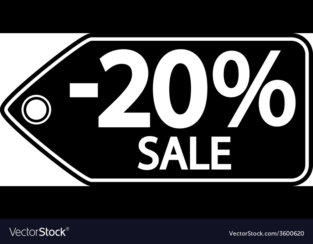 Sale sticker vector