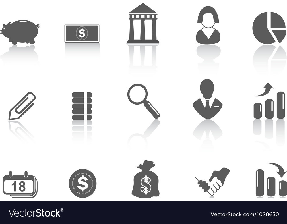 Simple bank icon vector