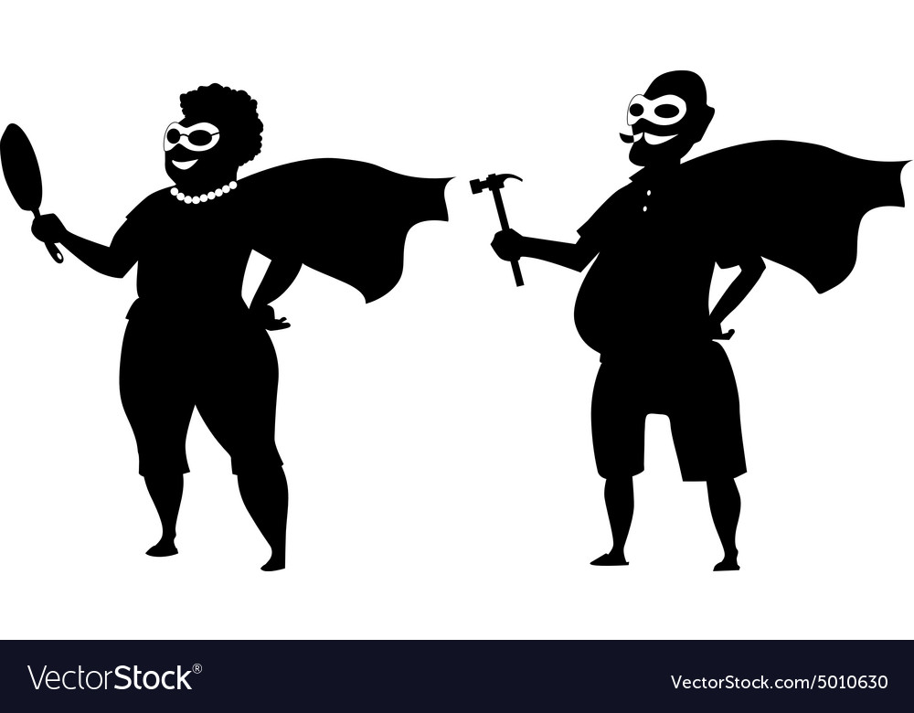 Super grandparents vector