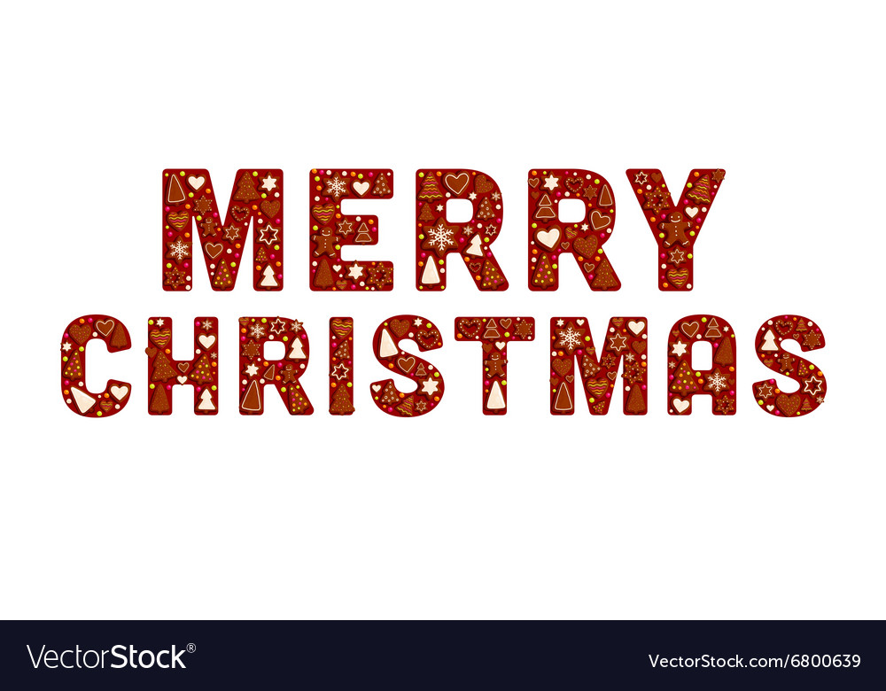 Simple christmas banner vector