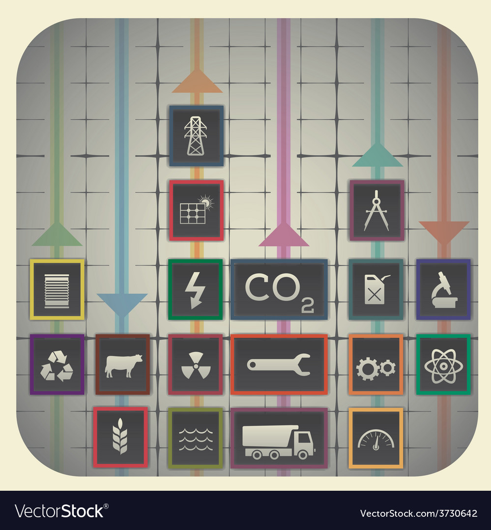 18 infographic elements with graph background vector