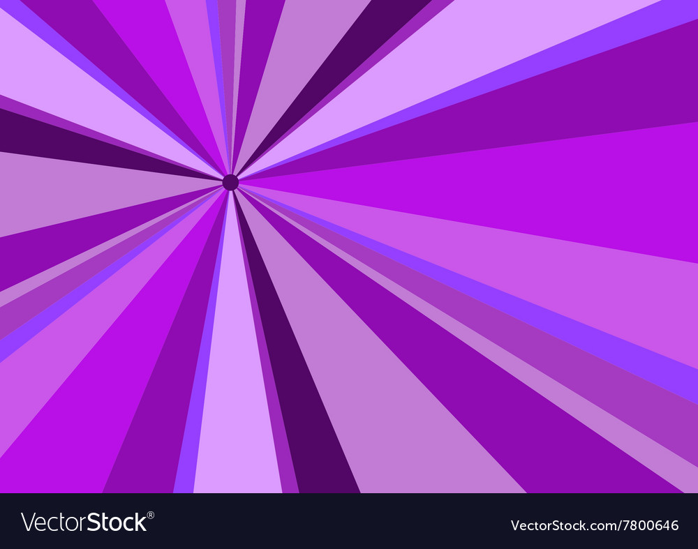 Rays radius background violet vector