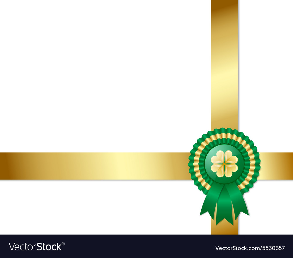 Saint patricks day irish background vector