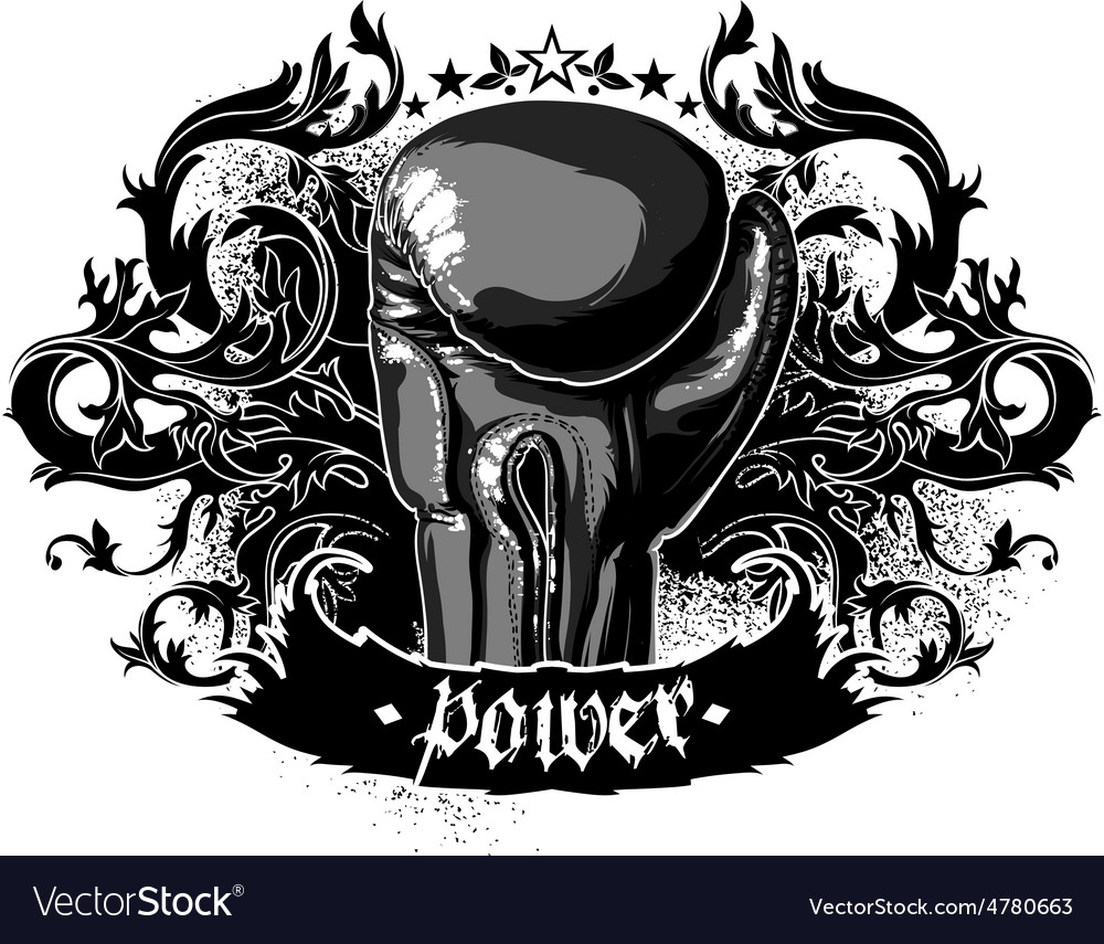 Sport boxing vector