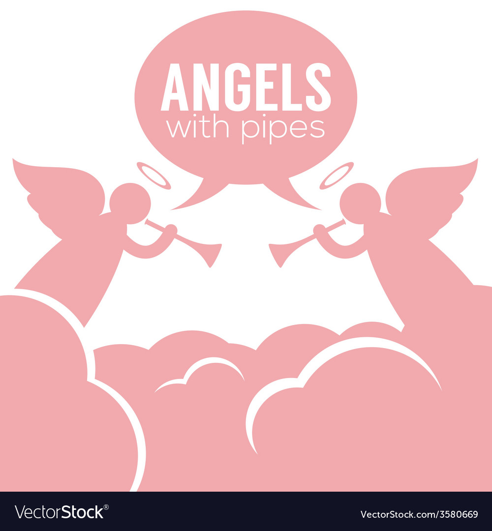 Angles with pipes vector