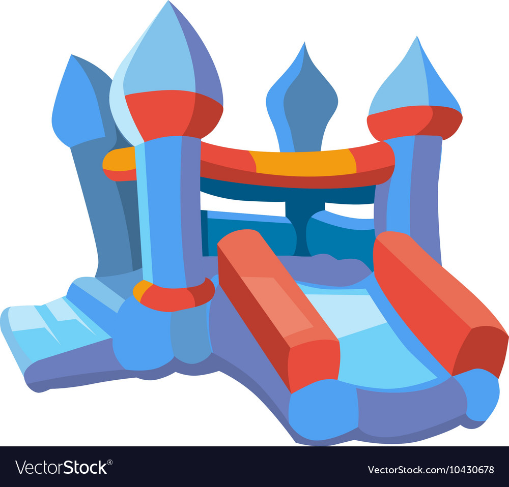 Inflatable castles and vector