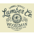 sawmill service lumber company vector image vector image