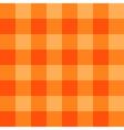 Orange Chessboard Background vector image