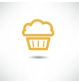 Cake Icon vector image