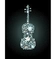 Diamond Violin vector image