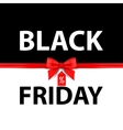Black Friday Black and white vector image vector image