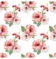hibiscus4 vector image vector image