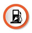 fuel web icon vector image