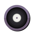 vinyl disc icon vector image