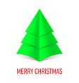MERRY CHRISTMAS Corner paper 18 vector image
