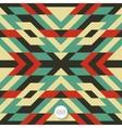 Seamless mosaic pattern Geometric background vector image