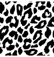 Leopard print pattern Repeating seamless vector image