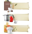 cooking banners vector image