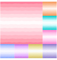 seamless pastel colors horizontal wave pattern vector image