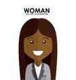woman avatar vector image