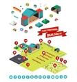 Music Festival Building Kit vector image