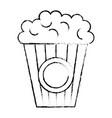 pop corn cinema food vector image