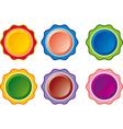 color button vector image