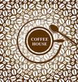 coffee cap brown vector image vector image