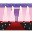 fashion stage vector image